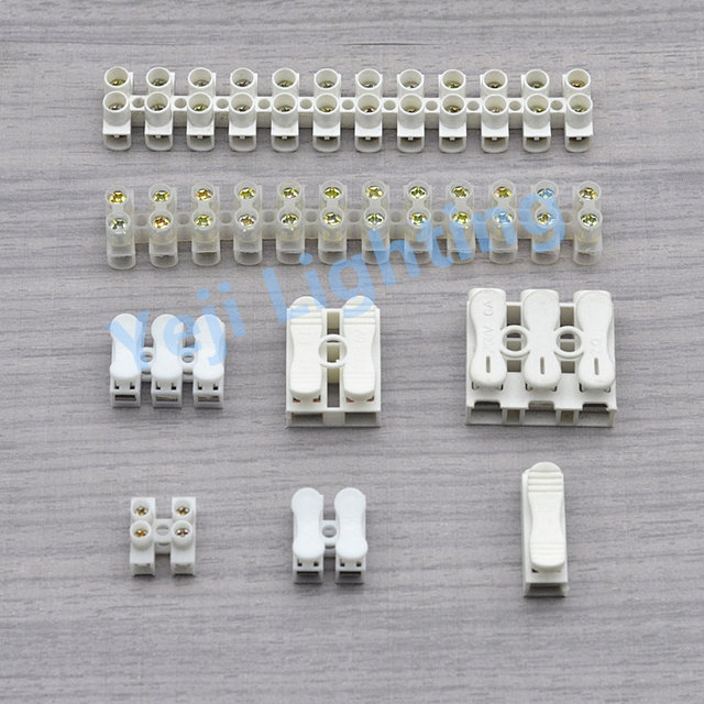 Surprising Push Type Terminal Block Led Fast Wiring Post Wire Connector Crimp Wiring 101 Cranwise Assnl