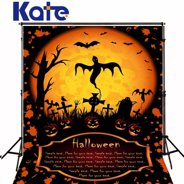 Kate New happy Halloween Theme Moonlight Photography Backgrounds ...