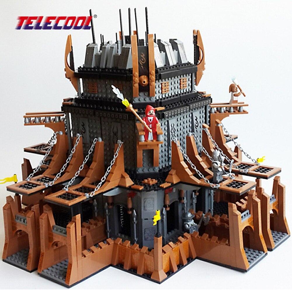 TELECOOL 2149 Pcs Magic Castle Building Blocks Bricks Kits Model City Model Building Kids Toy telecool 536 pcs knight series lion king castle 1010 building blocks brick set toy for kids christmas gift
