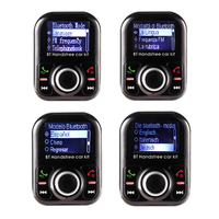 MP3 player FM modulator transmitter Bluetooth Car Kit Handsfree Two USB Charger One quick Charging