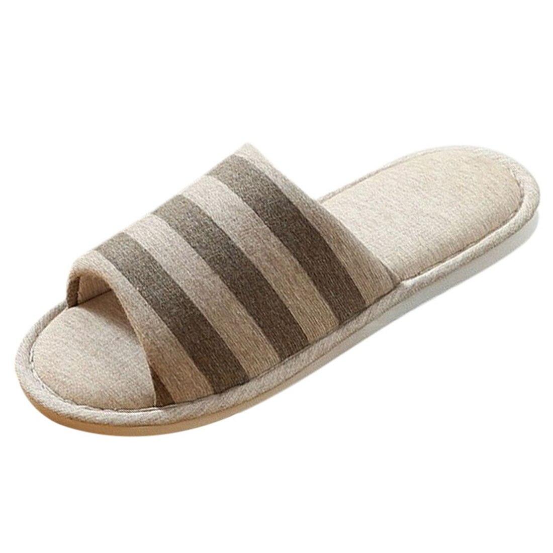Men Autumn Home Slippers Men Indoor House Shoes Male Home Non-slip Slippers Male Shoes for Bedroom Men Casual House Slippers