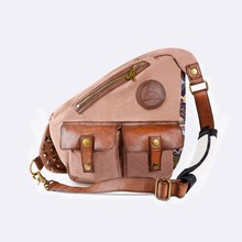Creative Multipurpose Wear-Resistant Canvas Sling Bag