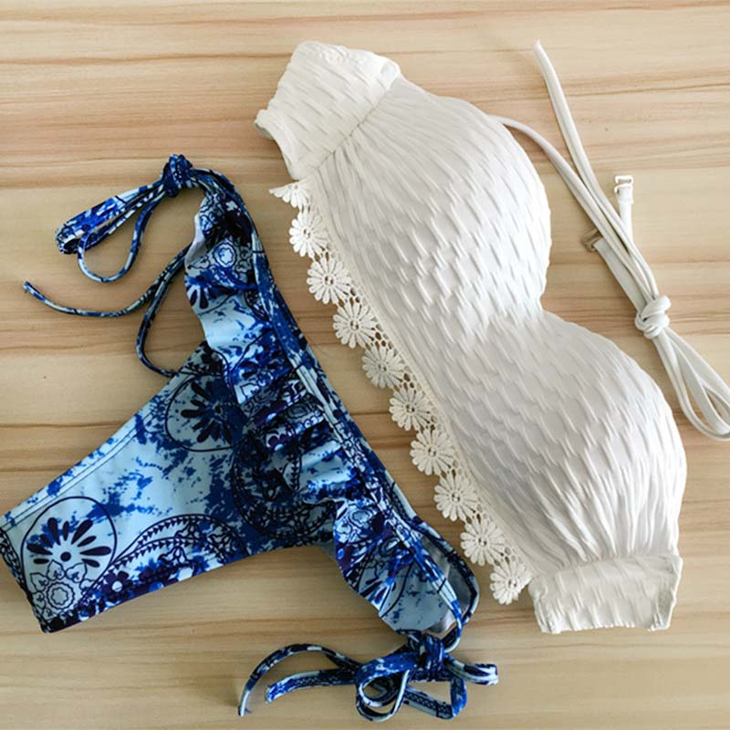 TDFunlive Bikinis Women 2017 Micro Bikini Set Swim Suit Swimwear Women Swimsuit Maillot De Bain Femme Sexy Bikini Push Up Biquin 2017 maillot de bain femme sexy swimwear vintage floral print push up bikinis set women bathing suit swimsuit