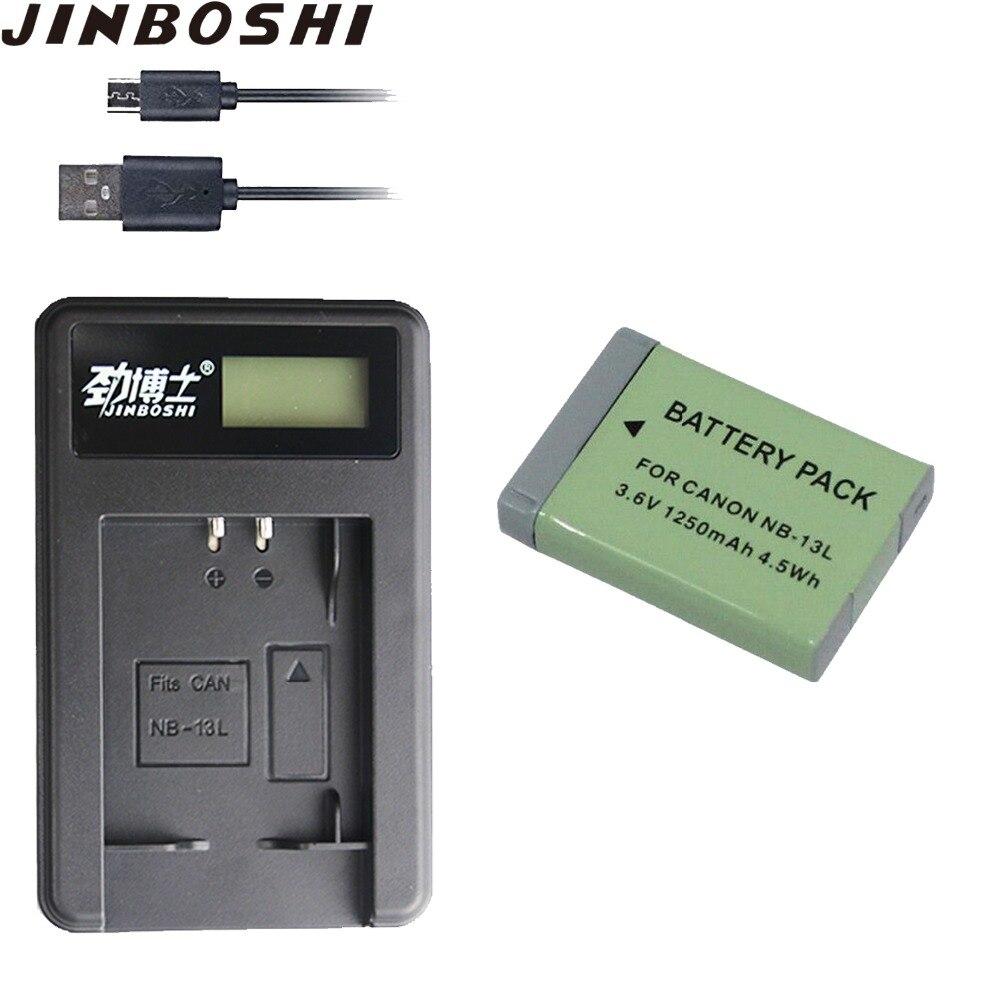 Hot sale NB-13L NB13L 13L baterias + USB Carregador de LCD para Canon PowerShot NB G5 X G5X G7 X G7X g7 X Mark II G9 X G9X SX720