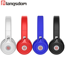 Original Langsdom D50 Headphone, stereo Headset HI-FI bass with micphone For IOS&Android phone MP3 MP4