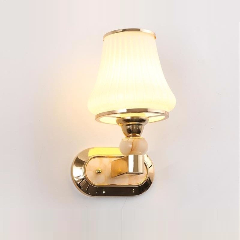 Simple LED wall lamp bedside lamp bedroom creative living room staircase aisle lights hotel lamp wall lamp