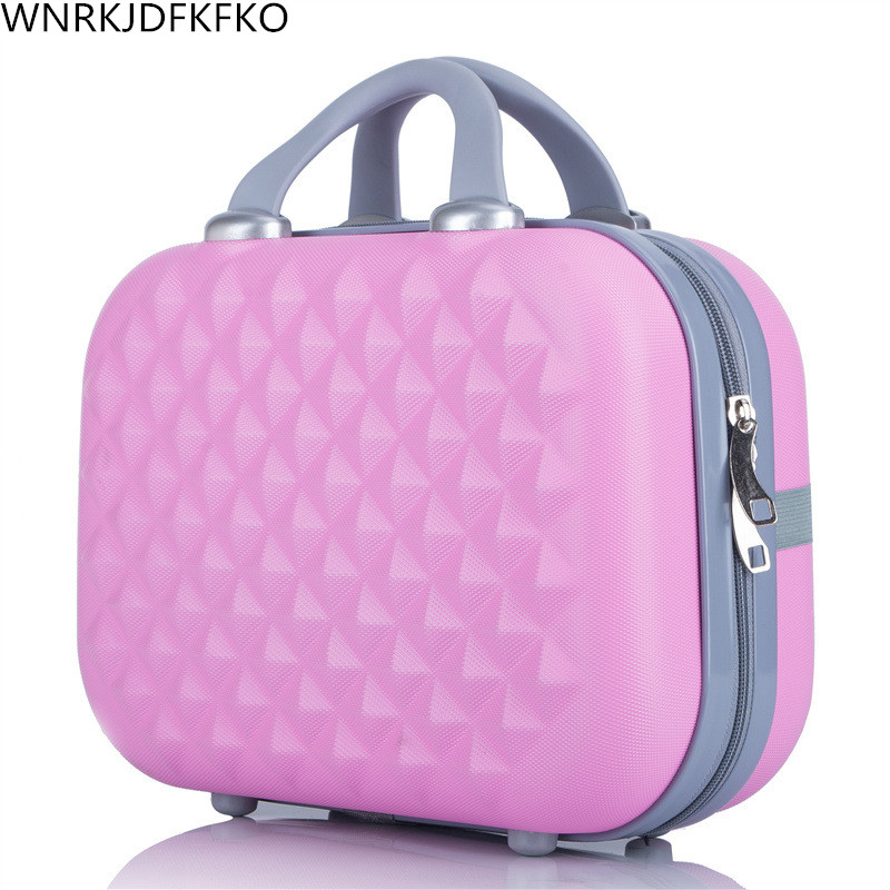 Organizer Makeup-Cases Professional Cosmetic-Bag Travel Large-Capacity Women for 14-Inches