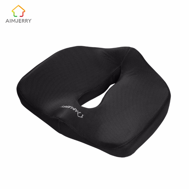 Memory Foam Seat Cushion For Chair Pad Massage Cushion Home Decor Coussin  Coccyx Pillow Orthopedic Design