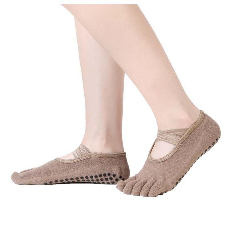 algodão yoga meias com cinto cruz cinco