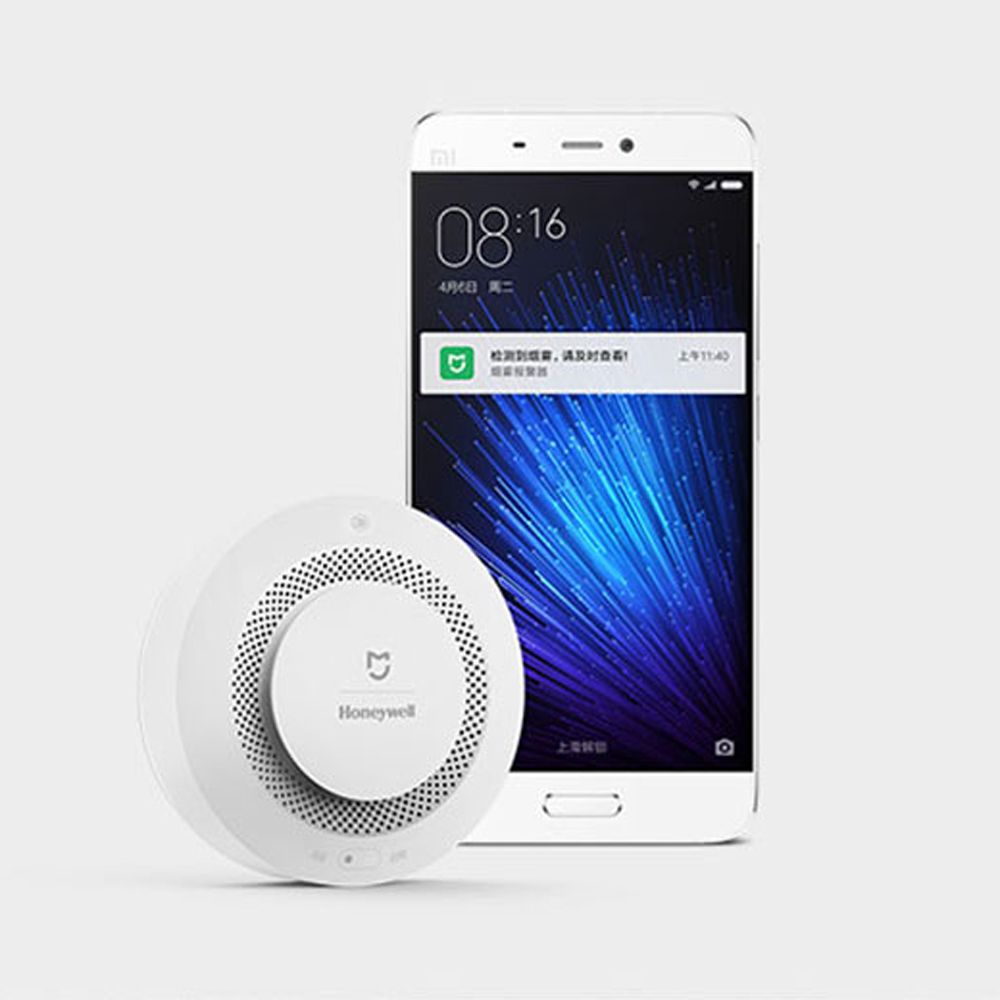 Image 4 - Xiaomi Mijia Home Alarm  Fire Alarm Detector Remote Control Audible Visual Alarm Notification Work With Mi Home APP-in Smart Remote Control from Consumer Electronics