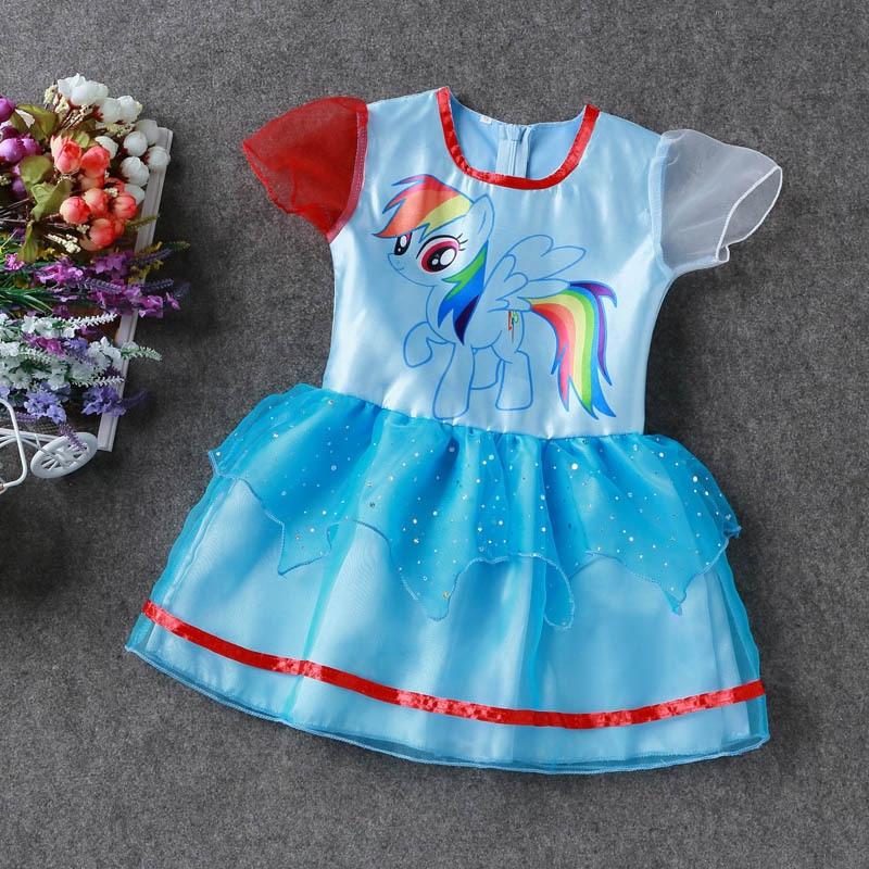 Yaz My Baby Girl moda Pambıqlı paltar Uşaq geyimləri Qızlar - Uşaq geyimləri - Fotoqrafiya 4