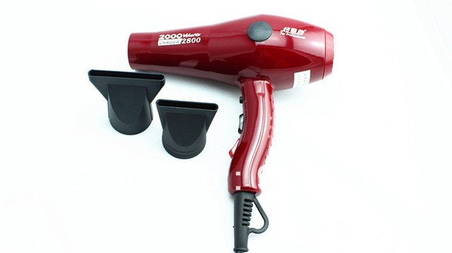Wholesale Free Shipping Hottest Selling Chaoba Hair Dryer Professional For Salons Red Blow Dryer 2800