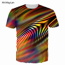 Vertigo Hypnotic Print 3D T Shirt Unisex Funny Colorful Short Sleeve Tees Men/women Tops Mens T-shirt Tshirt Drop Shipping 6XL