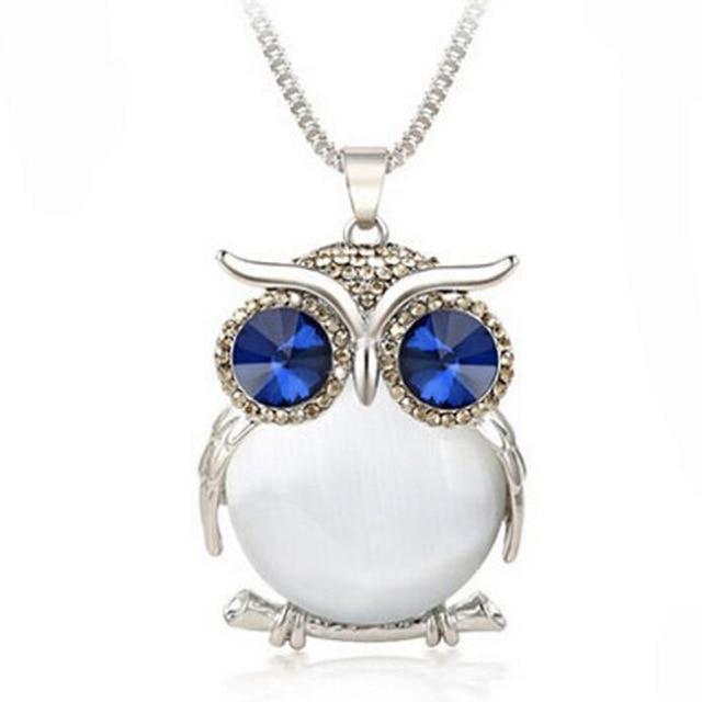 Crystal Owl Pendant...