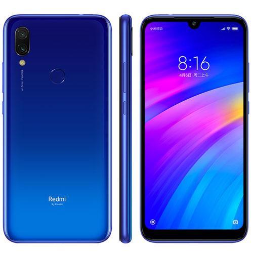 Xiaomi Redmi 7, Version globale, couleur bleu (bleu), double SIM, interne 32 go De mémoire vive, 3 go De mémoire vive, écran 6,26
