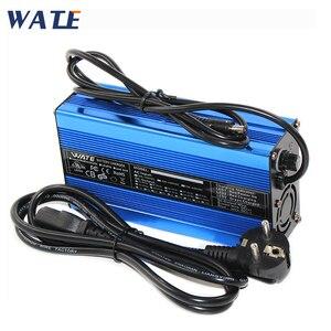 Image 1 - Carregador inteligente de bateria de lítio, 71.4v 2a, 17s, 60v, 20ah, para bicicleta elétrica, scooter para bicicleta dc110 220v saída 71.4v 2a volt