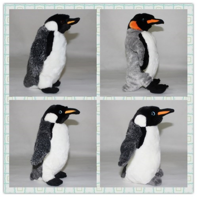 Simulation  Antarctic  Emperor Penguin Doll Toy Aquarium  Plush Toys Big Penguins  Pillow Children'S Day  Gift  Good Quality povos waterproof men s rechargeable triple blade electric shavers razor 3d pop up trimmer 8 hour charge 220v pq7200