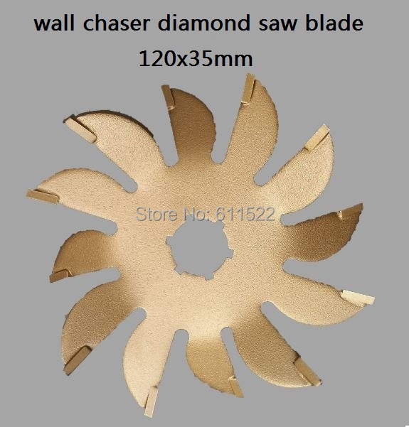 wall chaser tools saw blade 120mm diamond blade saw for wall cutter 35mm width at good price and fast delivery художественная литература