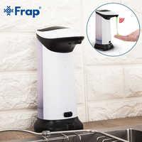 Dispensador de jabón líquido automático FRAP, Dispensador de jabón inteligente con Sensor de 420 ML, Dispensador de jabón sin contacto para baño de cocina Y35031