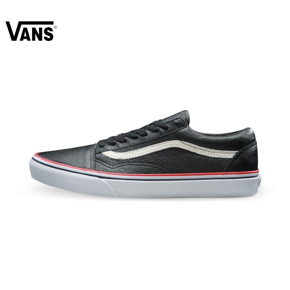 Original Vans Classic Vans Unisex Skateboarding Shoes Old Skool Sports Shoes Sneakers original vans white color women skateboarding shoes sneakers beach shoes canvas shoes outdoor sports comfortable breathable
