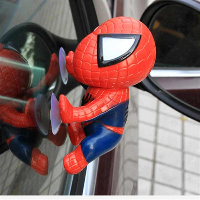 16 см игрушка Человек-паук альпинистский Человек-паук окно присоска для паук-кукла мужчины автомобиль домашняя внутренняя отделка