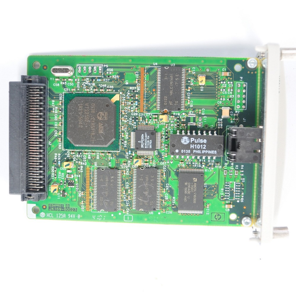 HP JETDIRECT 610N Fast Ethernet Print Server J4169A
