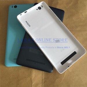 Image 4 - Original Batterie Abdeckung für Xiao mi mi 4i mi 4c mi 4I 4C Hinten Gehäuse Zurück Tür Fall Mit Flash ersatz Teile