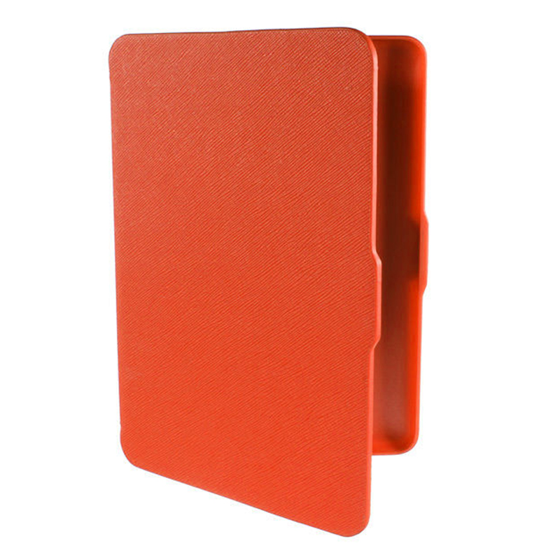 2 Packs Magnetic PU Leather Cover Case slim for Amazon Kindle Paperwhite (Cross pattern, Orange) 3 packs 75% hca garcinia extracts slim product