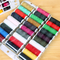 10pcs/sets Small roll household Sewing Threads Spools hand stitching embroidery thread clothes bedding sew tools 61g