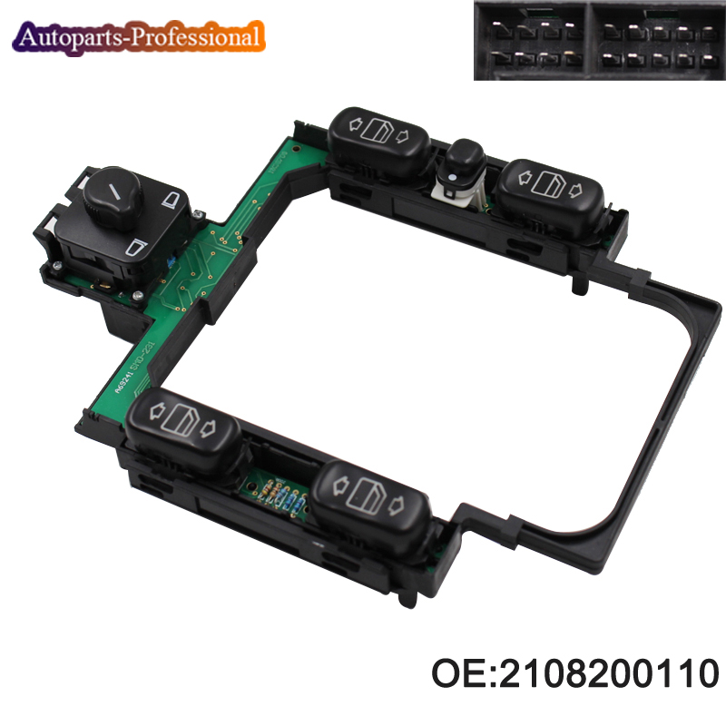 New 2108200110 Window Center Control Master Switch Console Assembly For Mercedes Benz W210 car accessories