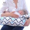 MILAGRE U-Em Forma de BEBÊ 2 em 1 Multifuncional Enfermagem Maternidade Algodão e Amamentação Travesseiro Tampa de Deslizamento