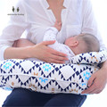 MIRACLE BABY  2 in 1 Multifunctional U-Shaped Maternity Cotton Nursing and Breastfeeding Pillow Cover Slip