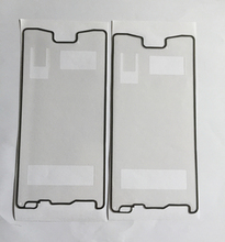 10pcs/lot Front Housing LCD Frame Adhesive Sticker for Sony Xperia Z4 z3+ z3 plus High Quality Free shipping