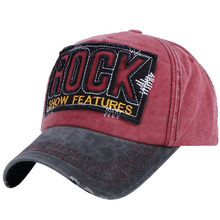 2019 Wholesale High Quality Washed Cotton Adjustable Solid Color Baseball Cap Unisex Couple Fashion Casual HAT Snapback