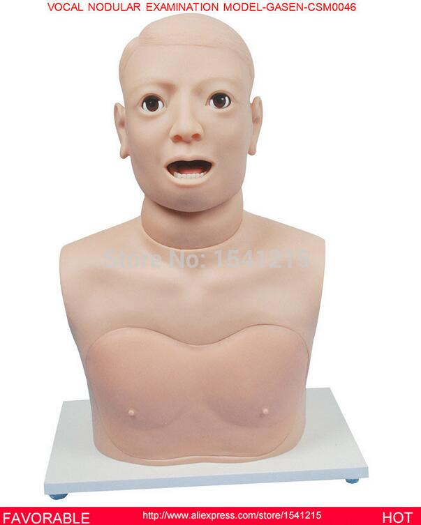 MANIKIN HEAD MANIKIN BODY MEDICAL TRAINING MANIKINS MEDICAL SIMULATOR TRAINING VOCAL NODULAR EXAMINATION MODEL-GASEN-CSM0046 cpr training manikin simulator medical training manikins medical training manikins central venous injection model gasen csm0002