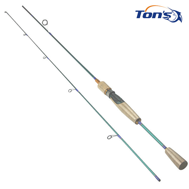 Trout spin sv 602ul soft cork ultra light spinning fishing for Light fishing rods