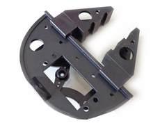 Frete grátis + robô braçadeira pinça suporte servo montagem mecânica garra braço kit para ds3218 ds3115 servo mais recente versão