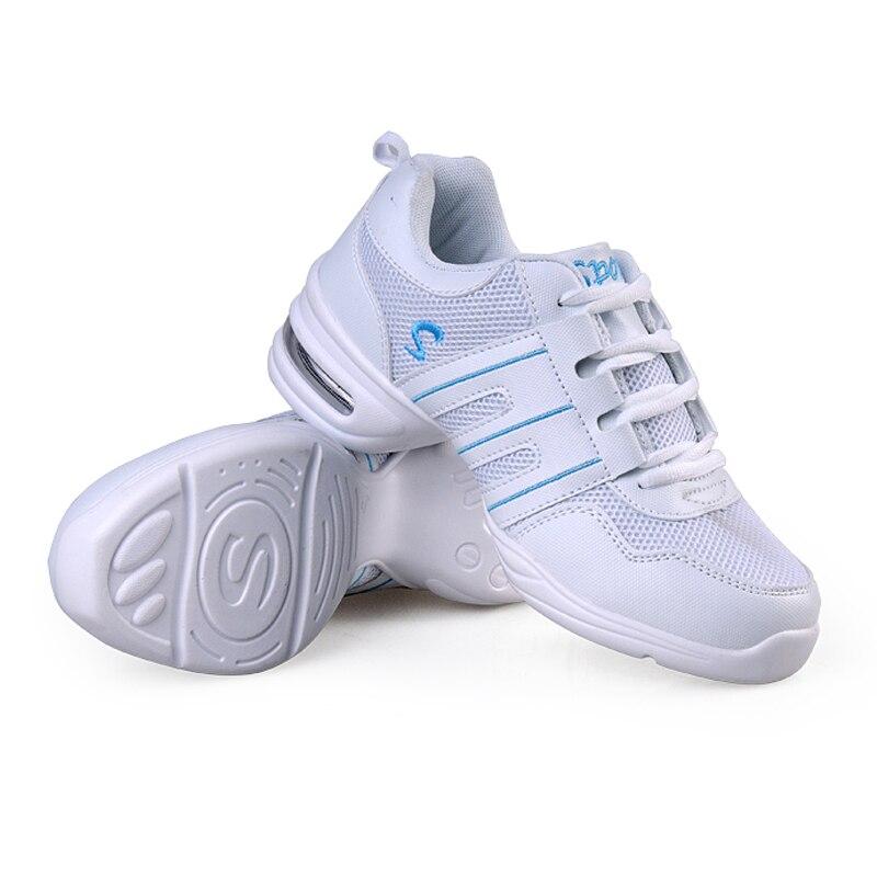 Aliexpress.com  Comprar Las mujeres Zapatos de baile Jazz Hip Hop Zapatos  Mujer Zapatos Zapatillas para plataforma deportes Dancing marca  transpirable ... 36de2f21706