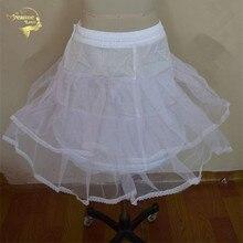 Бесплатная Доставка ! Дешевой цене горячая распродажа небольшой Петтикот underskirt свадебное платье юбка скольжения сорочка