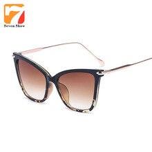 2017 Cat Eye Sunglasses Mujeres Diseñador de la Marca de Anteojos de La Vendimia Claro Gafas de Sol Para Damas Espectáculo Femenino Transparente Shades Gafas