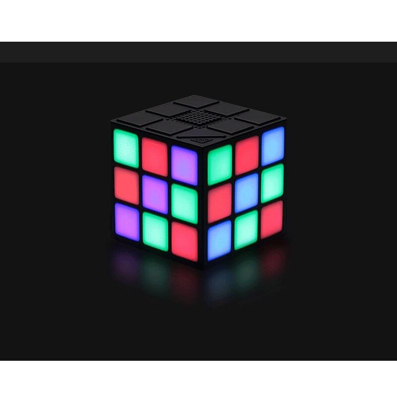 36 LED <font><b>Cube</b></font> Динамик Портативный Динамик с TF карты Открытый Беспроводной <font><b>Bluetooth</b></font> Smart светодиодная вспышка света звук Колонки