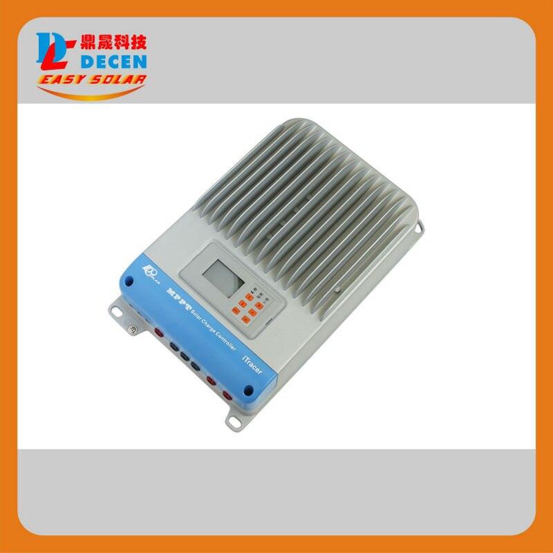 100% туре 45А mppt Солнечной контроллер заряда RS232 и RS485 с протоколом Modbus can шине 12В 24В 36В 48В авто работа, ЖК-дисплей