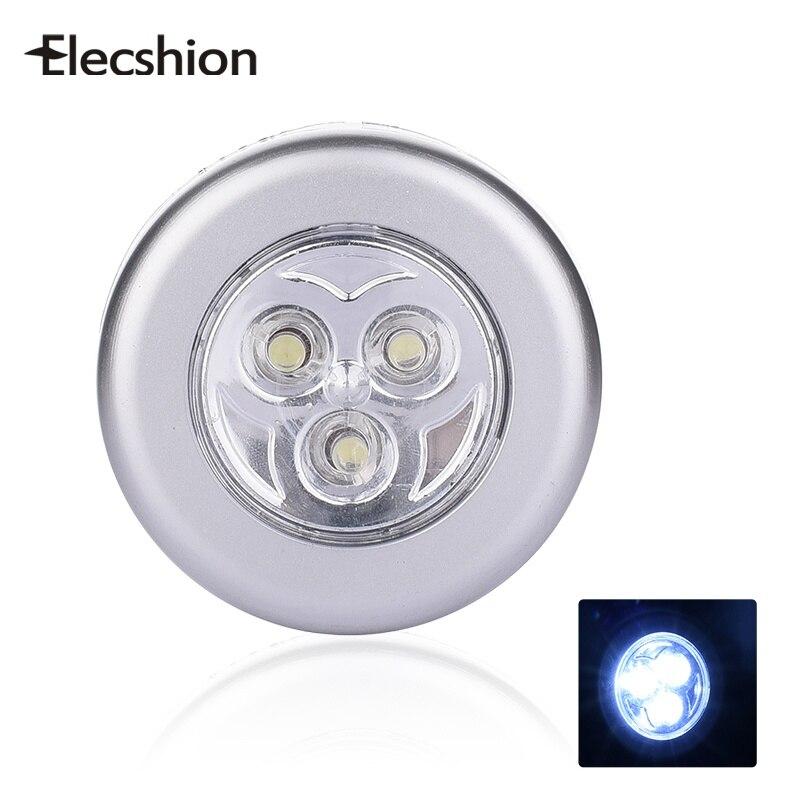 Elecshion Mini Led Book Light Touch Stick Tap Lamp Reading