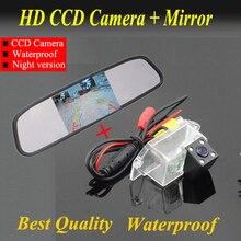 Full HD 4.3 » монитор зеркала автомобиля жк-tft + заднего вида парковки резервного копирования для Mitsubishi Lancer ночного видения цена от производителя