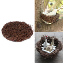 New Arrival Hot Sale Vintage Decoration Prop Bird Nest Bird Cage Creative for Optical Store Window Display Photography Props(China)