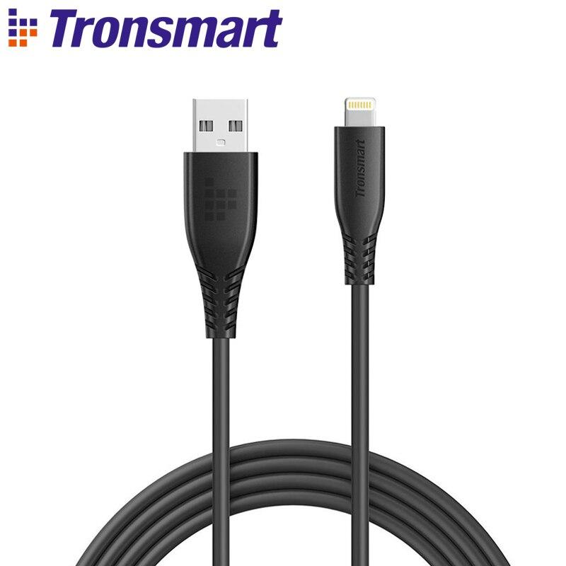 [MFi Certified] Tronsmart LAC02 4ft/1,2 m USB A para el Cable del relámpago Cable de carga rápido para el iPhone x/8 Plus/8, para el iPad, iPod