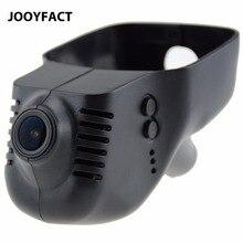 JOOYFACT A7H wideorejestrator samochodowy rejestrator kamera na deskę rozdzielczą kamera wideo rejestrator 1080P Novatek 96672 IMX307 WiFi pasuje do VW Volkswagen i Skoda Cars