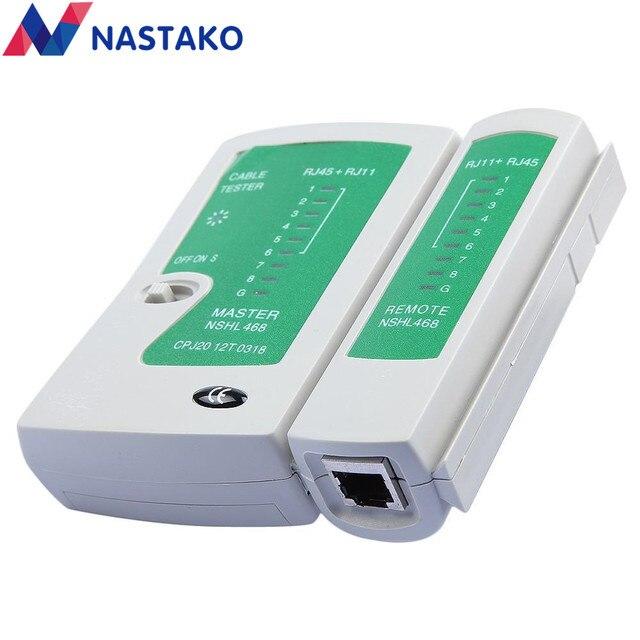 Online Shop NASTAKO Network Ethernet Cable Tester RJ45 Kit RJ45 ...