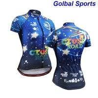 2016 Mens Blue Totem Pattern Short Sleeve Cycling Jersey Quick Dry Biking Clothing Anti Sweat Rider