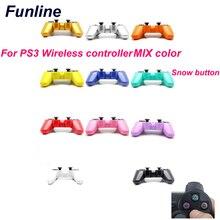 Colorido Sem Fio Bluetooth menor preço Do Jogo PS3 Controladores de Jogo Para PS3 Gamepad